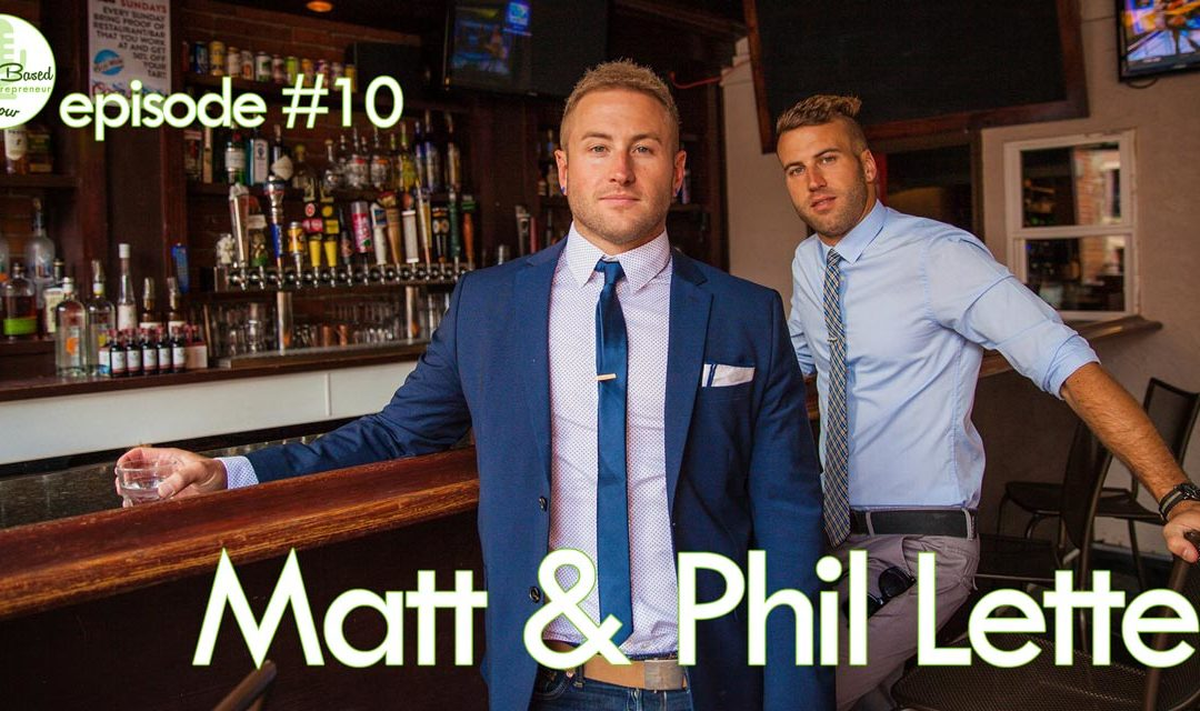 Episode #10 – Matt & Phil Letten: The Vegan Bros on How To Build a Personality Brand Online (and love your haters)